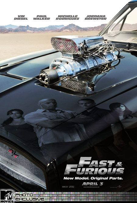 Fast and furious 4 Poster
