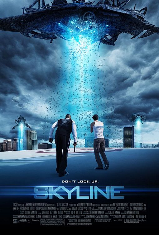 Skyline (2010) movie poster
