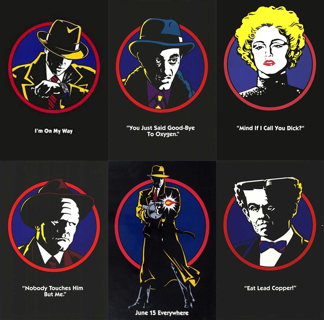 characters in dick tracy