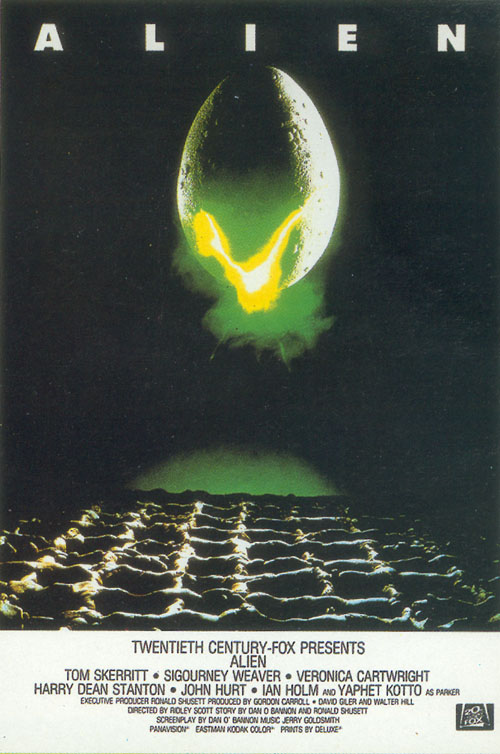 alien movie poster original - photo #26